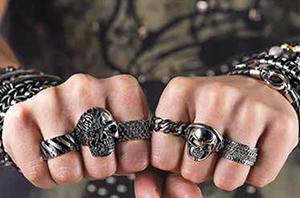 Мужские кольца Zippo