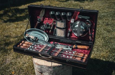Шашлычные наборы для пикника