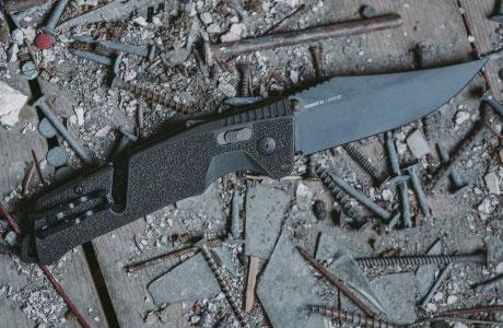 Полуавтоматические ножи