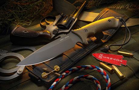 Охотничьи и туристические ножи