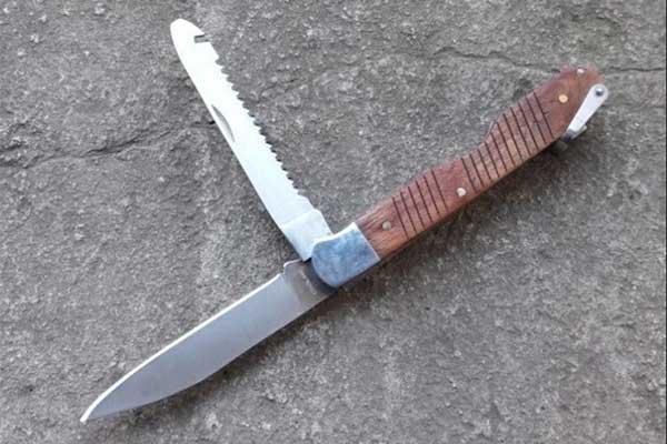 Складной нож Авиатор, сталь 440