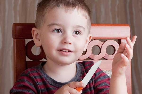 Подготовка ребёнка к ношению ножа