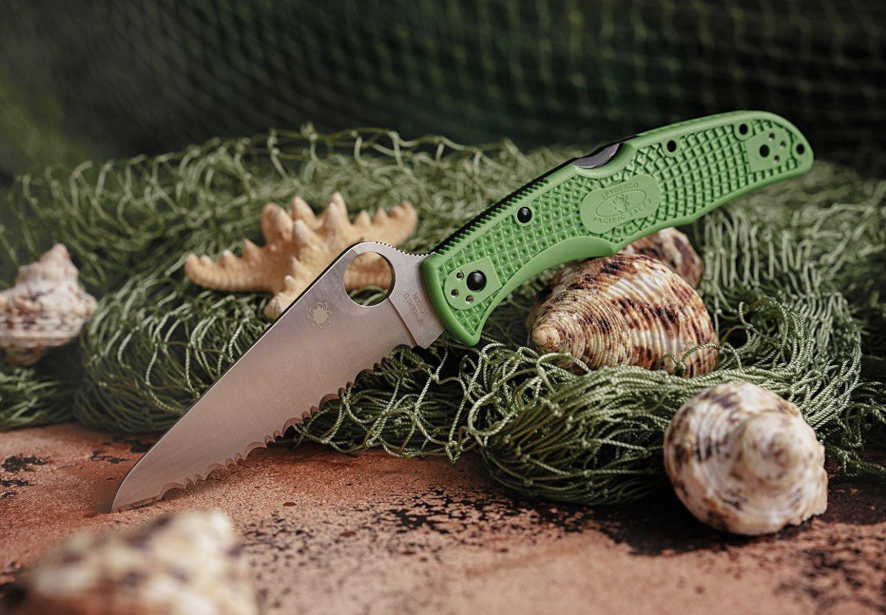 Серия Spyderco Salt - ножи для лета и соленой воды