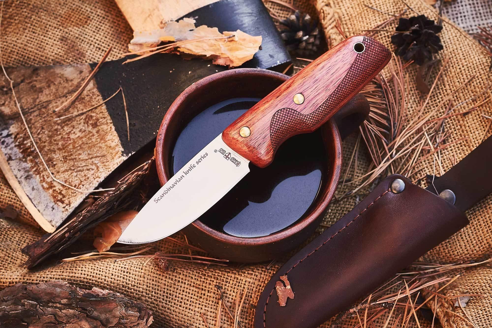 ТОП 10 ножей для лета с деревянной рукояткой