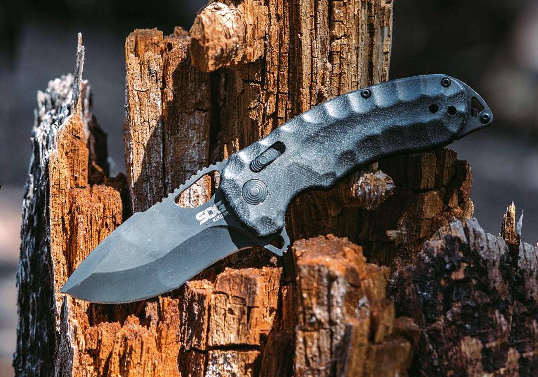 Нож SOG Kiku XR - американский самурай