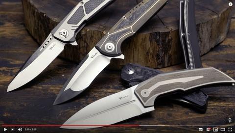 Обзор на складной нож Reate K-4, сталь RWL34