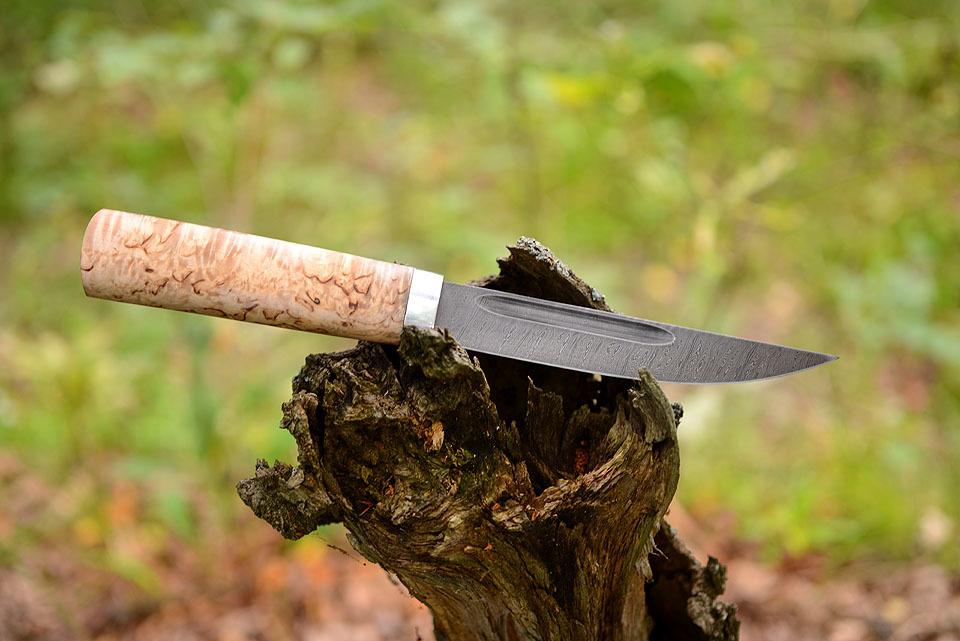 Нож северного охотника –Якутский от мастерской Крутова