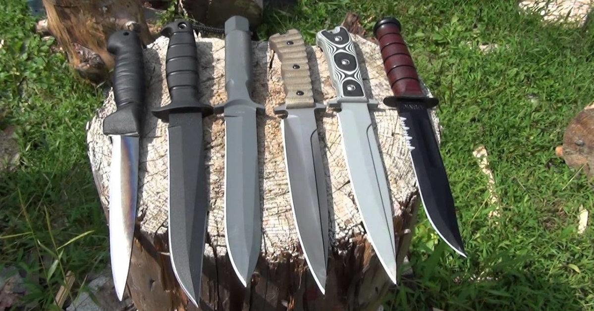 Как выбрать нож для похода?