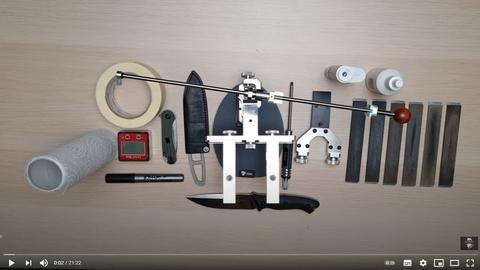 Тест заточной системы KADET EXPERT || новая точилка для ножей