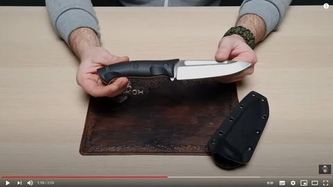 Коротко о главном || Фиксированный нож Honor Berserk X