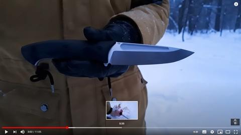 Тест нового ножа || Honor Berserk X