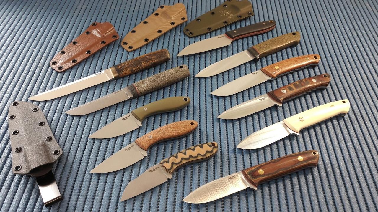 Краткий обзор ножевых сталей