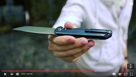 Обзор на Складные ножи CH3507, сталь M390