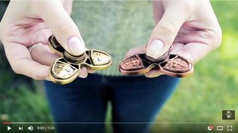 Спиннер (hand spinner) templiers - видеообзор