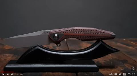 Что ты такое??? || Новый складной нож от Rike Knife!