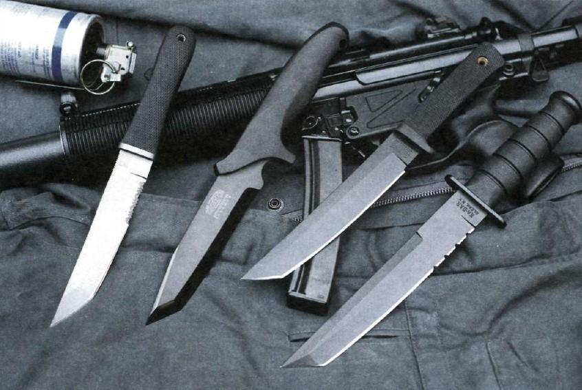 Тактические ножи – возникновение и развитие