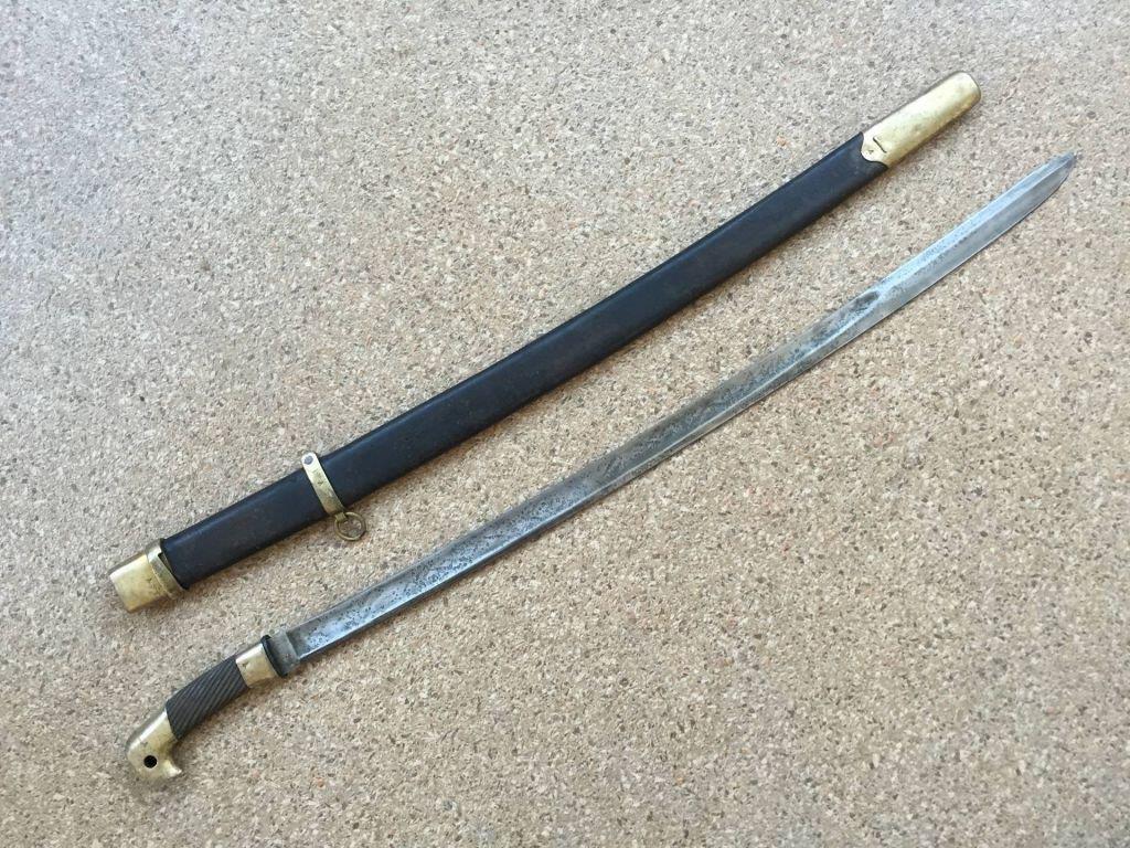 Шашки – как венец развития длинноклинкового боевого оружия