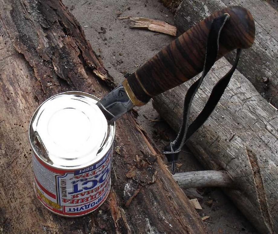 Нож для тушенки или чем в походе открывать консервы?