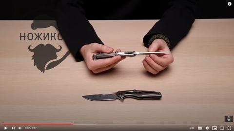 Обзор на складной нож RIKE KNIGHT!