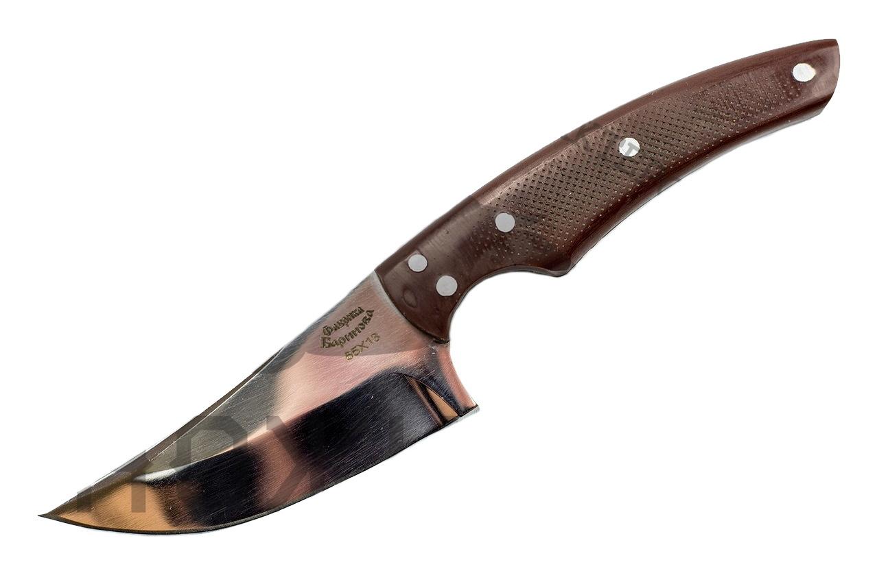 Нож Горец малый, сталь 65х13, рукоять G10