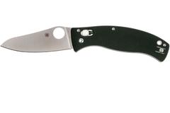 Складной нож D'Allara 3 - Spyderco 82GP3, сталь Crucible CPM® S30V™ Satin Plain, рукоять G10, чёрный, фото 4