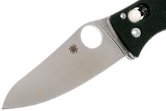 Складной нож D'Allara 3 - Spyderco 82GP3, сталь Crucible CPM® S30V™ Satin Plain, рукоять G10, чёрный, фото 6