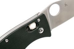 Складной нож D'Allara 3 - Spyderco 82GP3, сталь Crucible CPM® S30V™ Satin Plain, рукоять G10, чёрный, фото 9