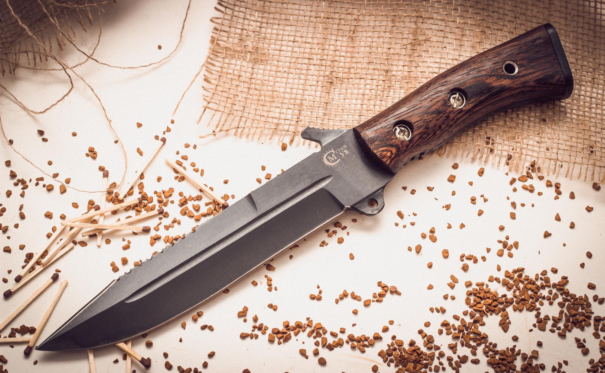 Нож для выживания «Смерч» У8 от Кузница Семина