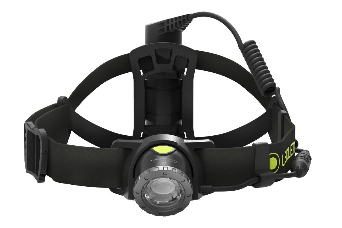 Фонарь светодиодный налобный LED Lenser NEO10R, черный, 600 лм, аккумулятор фонарь светодиодный налобный led lenser neo6r синий 240 лм аккумулятор