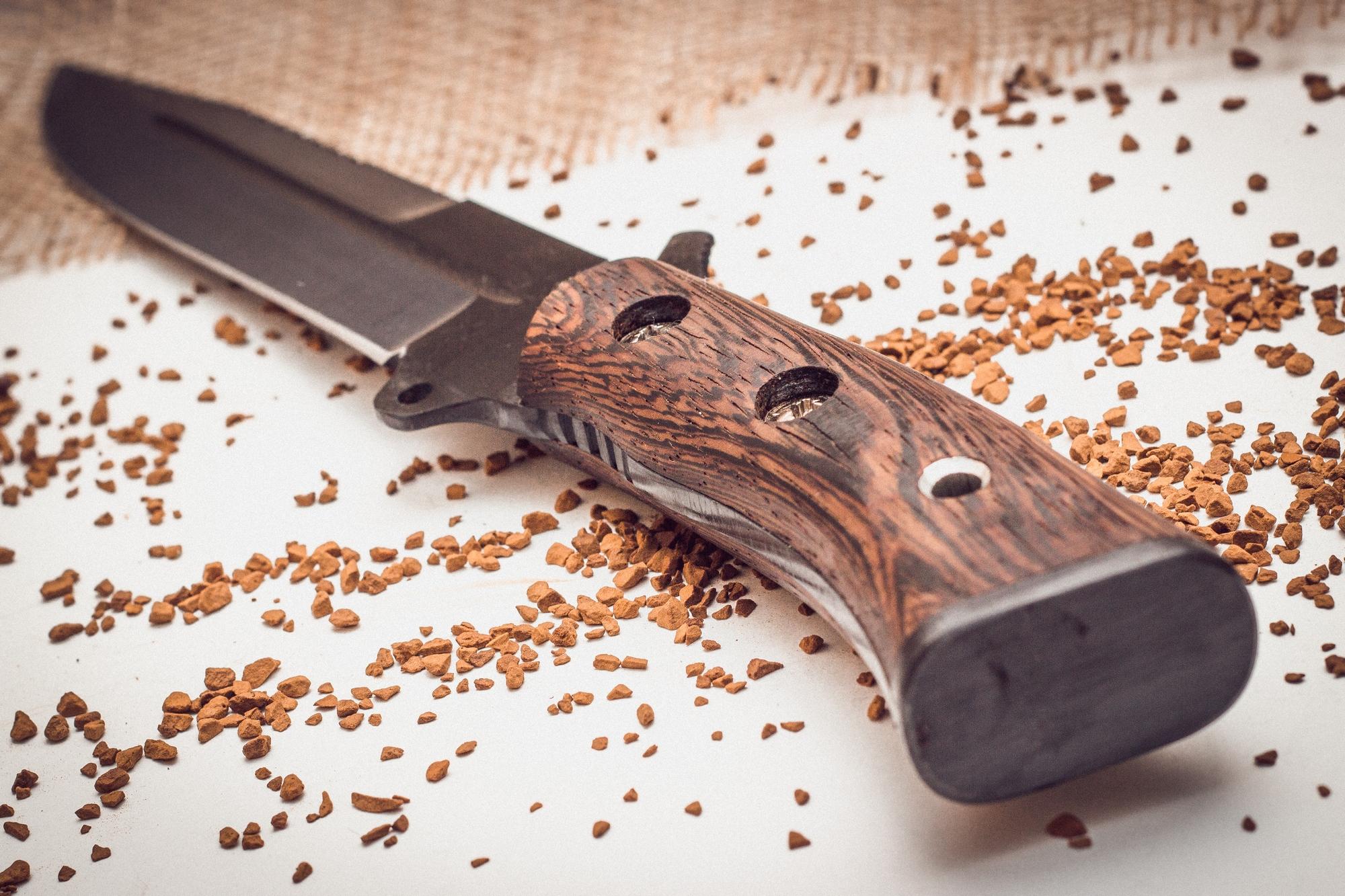 Фото 7 - Нож для выживания «Смерч» У8 от Кузница Семина