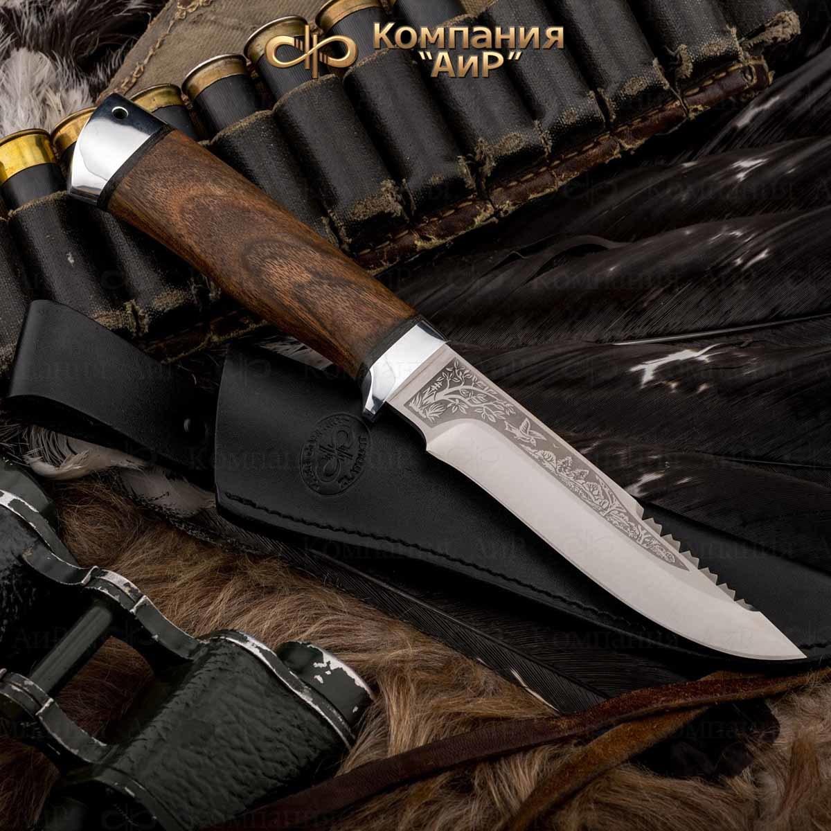 Нож АиР Стрелец, сталь 110х18 М-ШД, рукоять дерево