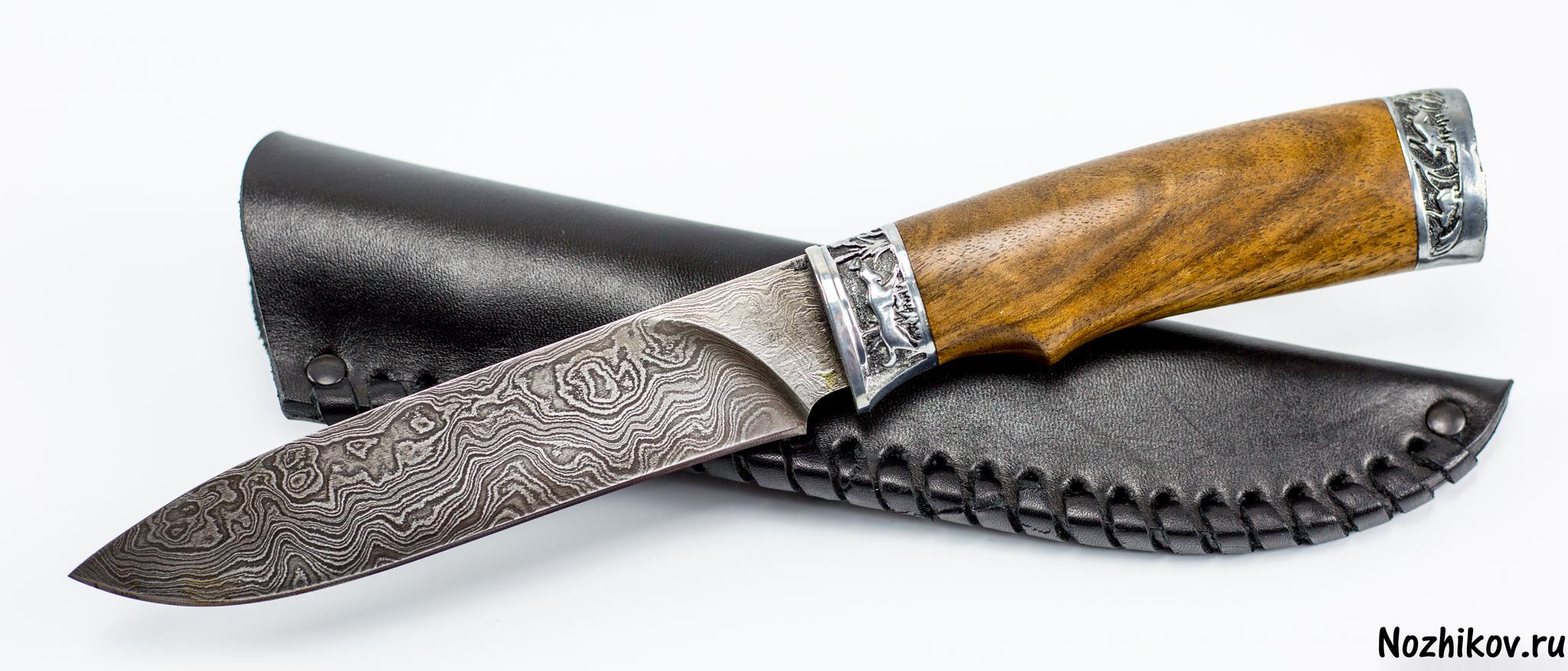 Фото 9 - Авторский Нож из Дамаска №33, Кизляр от Noname