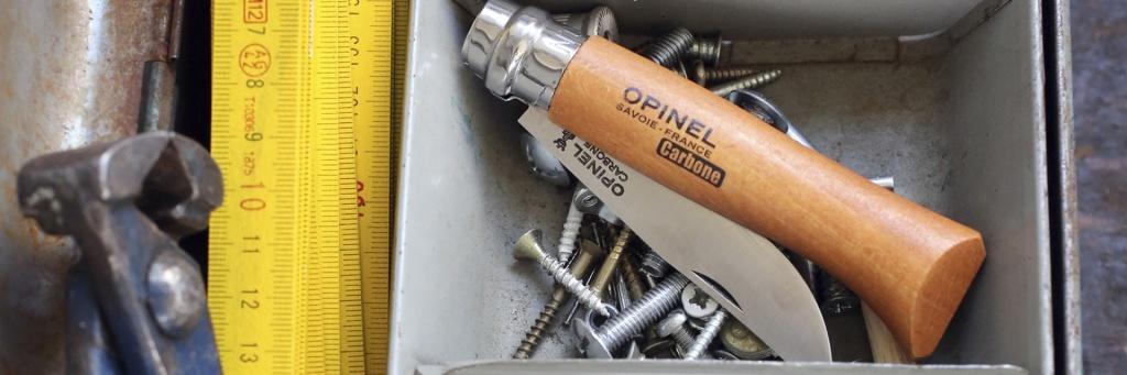 Фото 4 - Нож складной Opinel №4 VRN Carbon Tradition