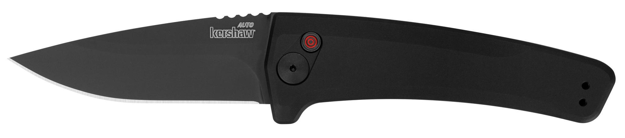 Полуавтоматический складной нож Launch 3 - Kershaw 7300BLK, сталь Crucible CPM® 154, рукоять анодированный алюминий, чёрный