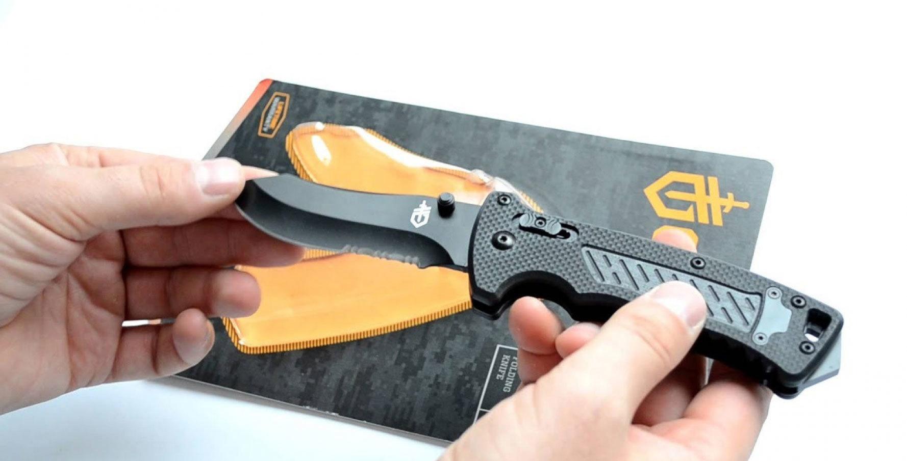 Фото 8 - Складной нож Gerber DMF Folder, сталь 7Cr17MoV, рукоять стеклотекстолит G10