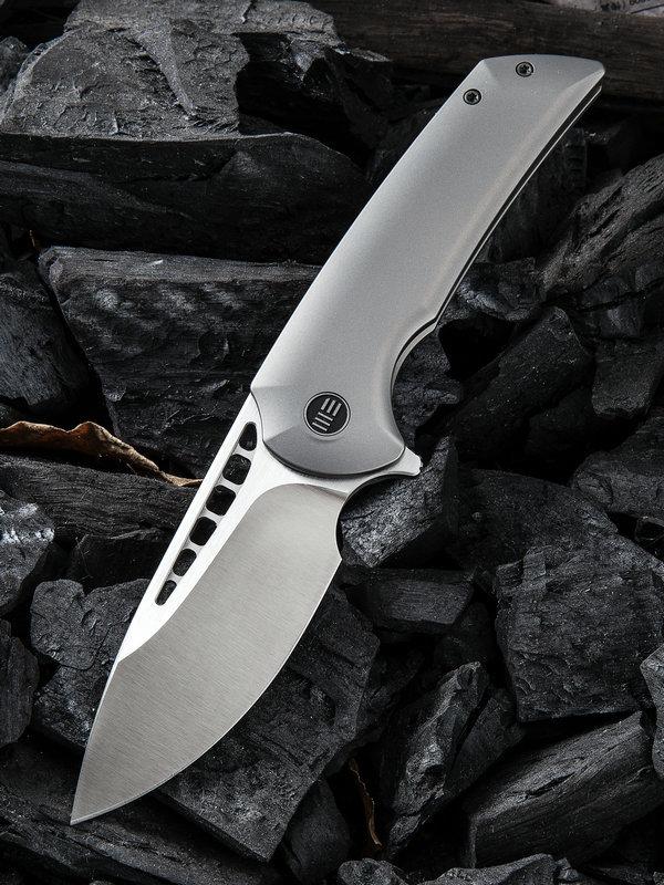 Складной нож WE Knife Malice, Bohler M390, титан