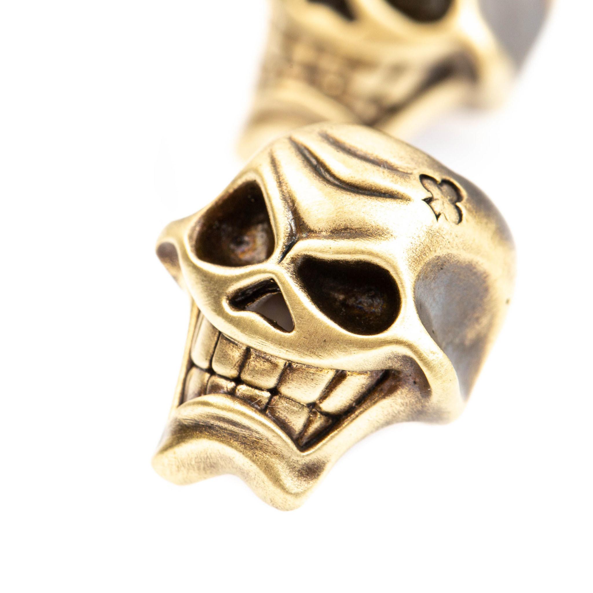 Бусина для темляка Веселый Крести бусина для темляка skull