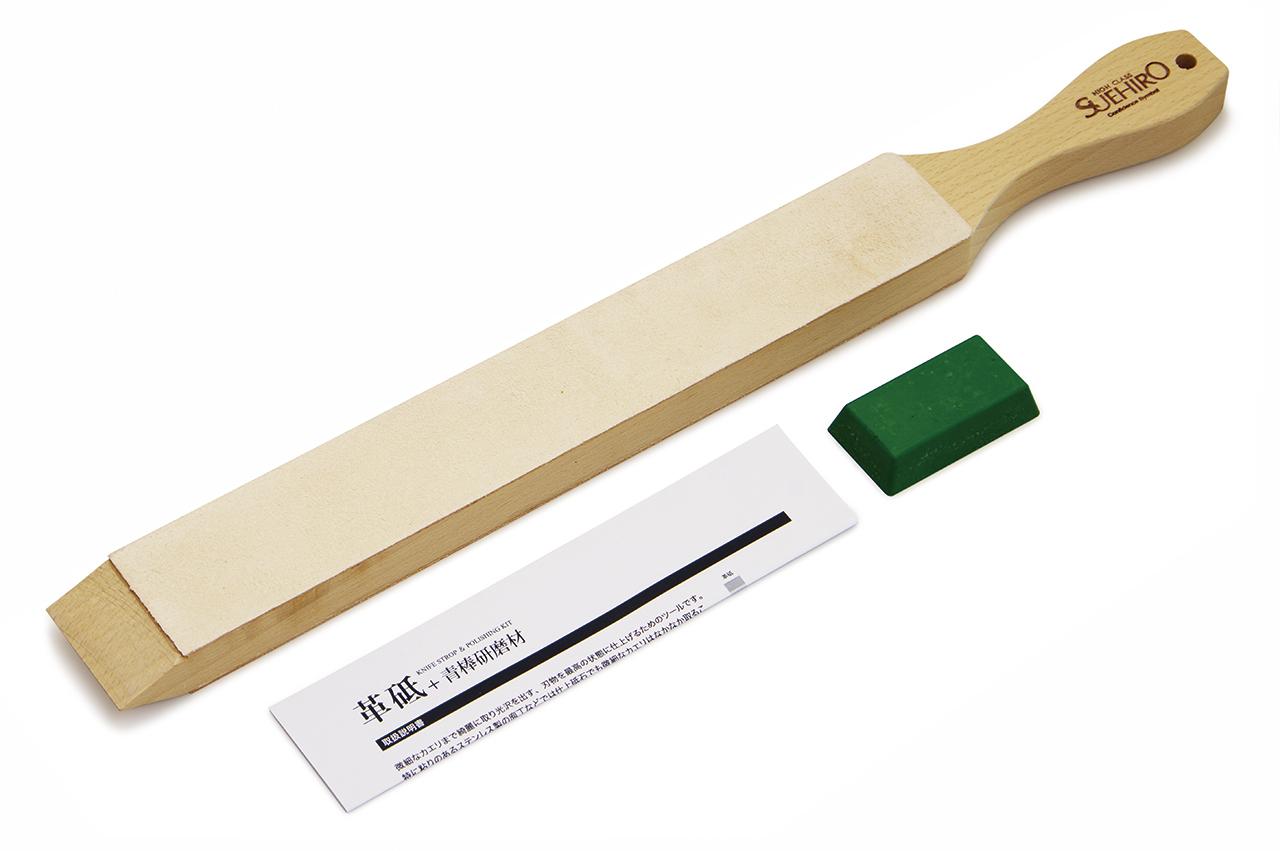 Набор Suehiro, ремень и полировка