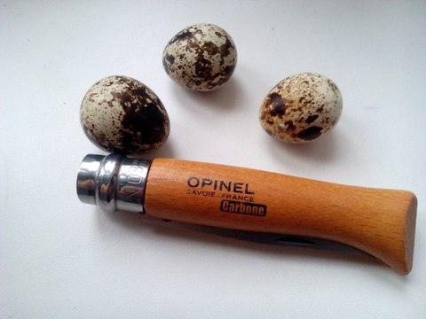 Нож складной Opinel №5 VRN Carbon Tradition, сталь AFNOR XC90 Carbon Steel, рукоять бук, 111050. Вид 3