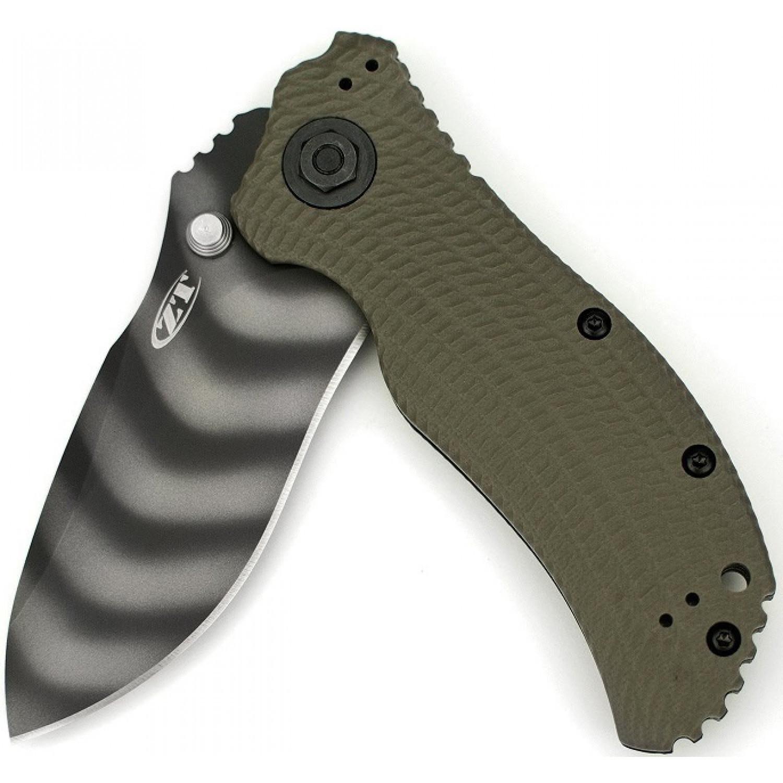Фото 10 - Нож полуавтоматический ZT 0301, сталь CPM-S30V, рукоять G10 от Zero Tolerance
