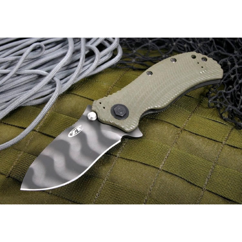 Фото 12 - Нож полуавтоматический ZT 0301, сталь CPM-S30V, рукоять G10 от Zero Tolerance