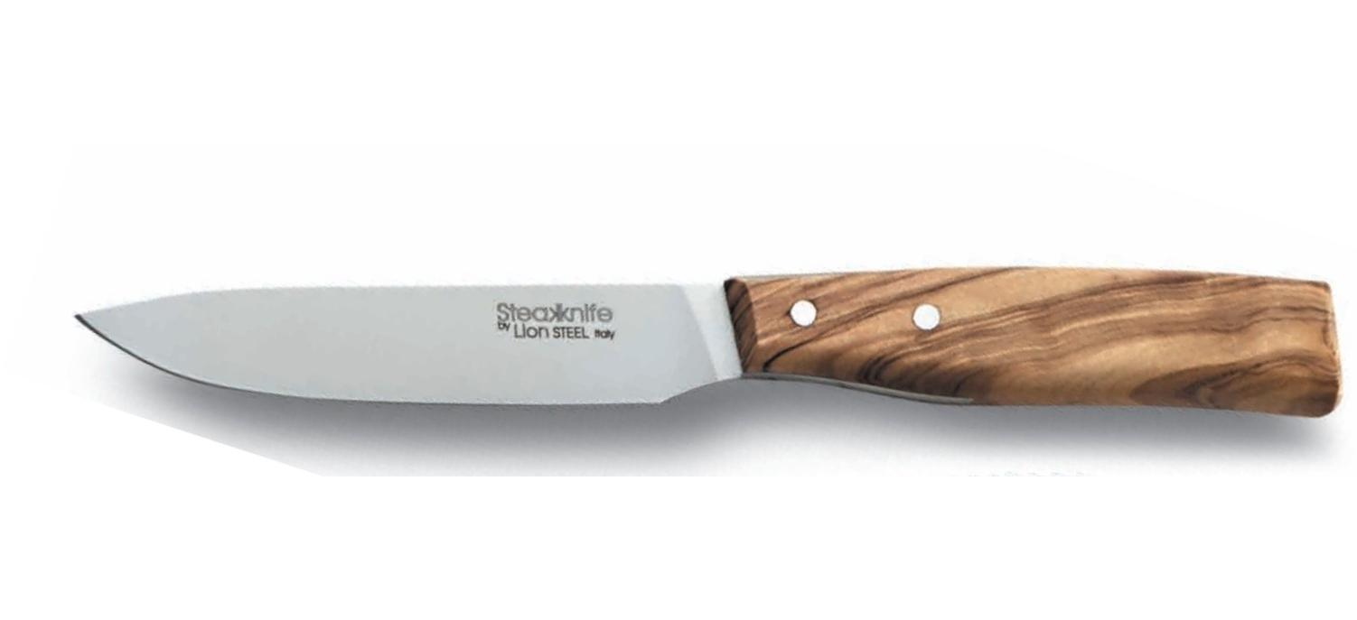 Фото 6 - Набор ножей для стейка LionSteel в деревянной коробке - 9001S UL, 4 шт от Lion Steel