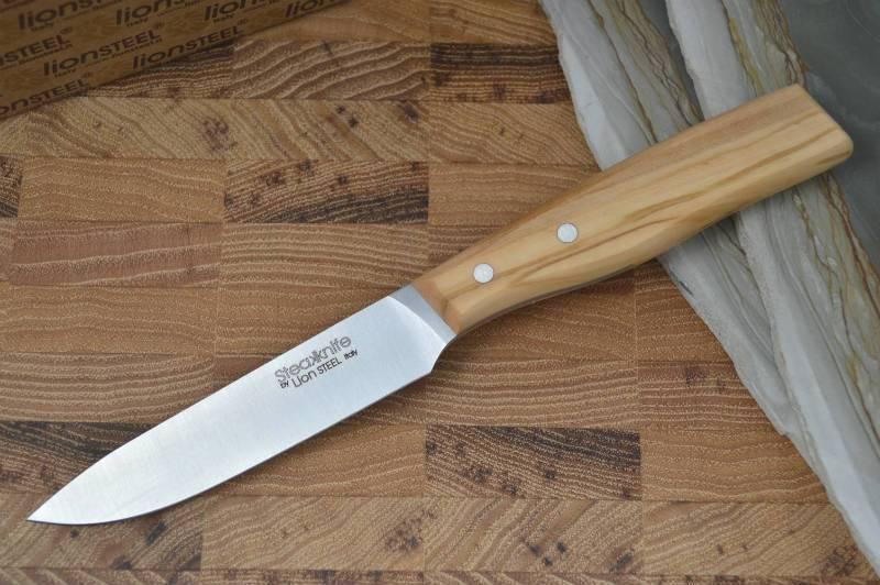 Фото 3 - Набор ножей для стейка LionSteel в деревянной коробке - 9001S UL, 4 шт от Lion Steel