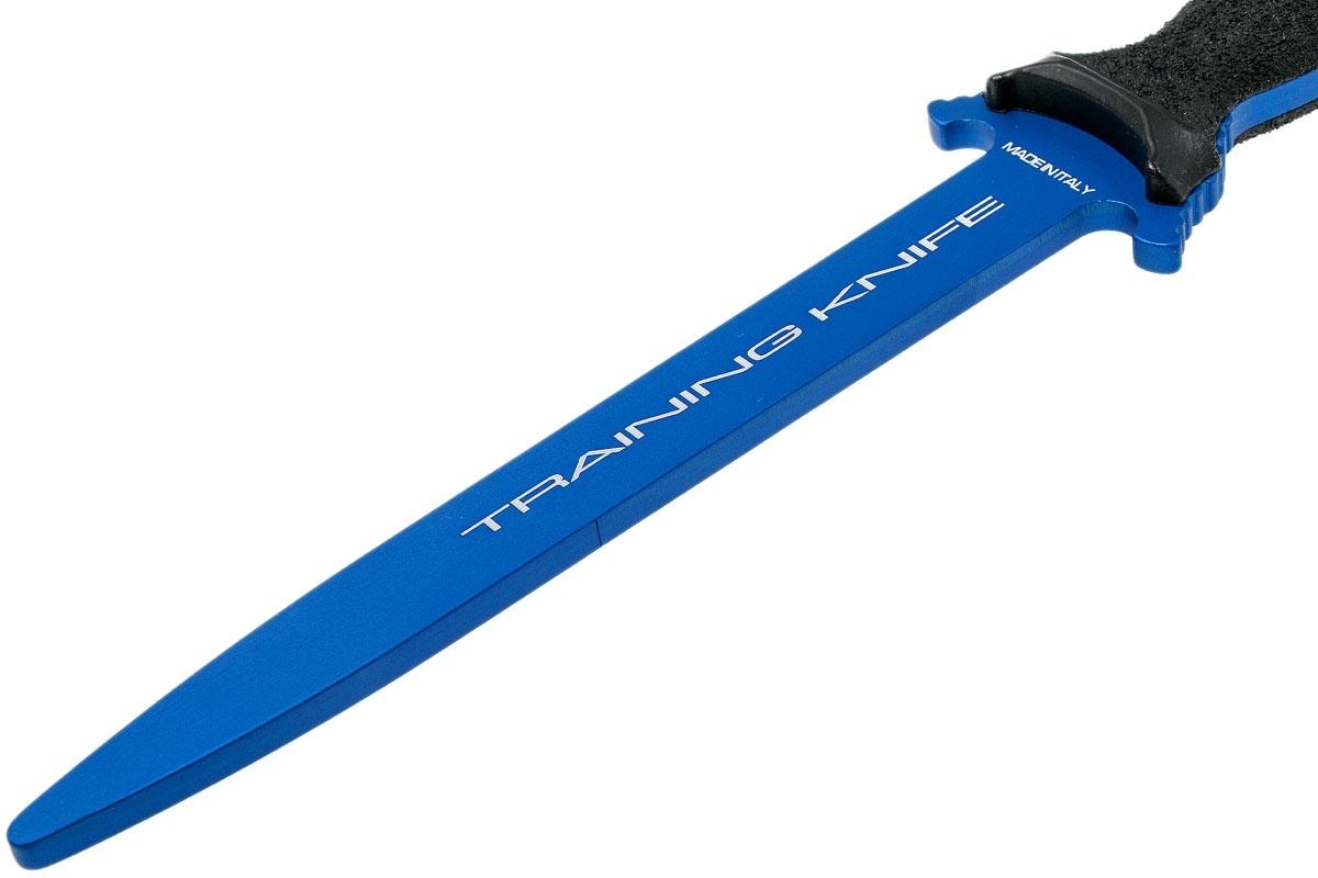 Фото 7 - Нож тренировочный Extrema Ratio Suppressor (blue), материал алюминий, рукоять полиамид, синий