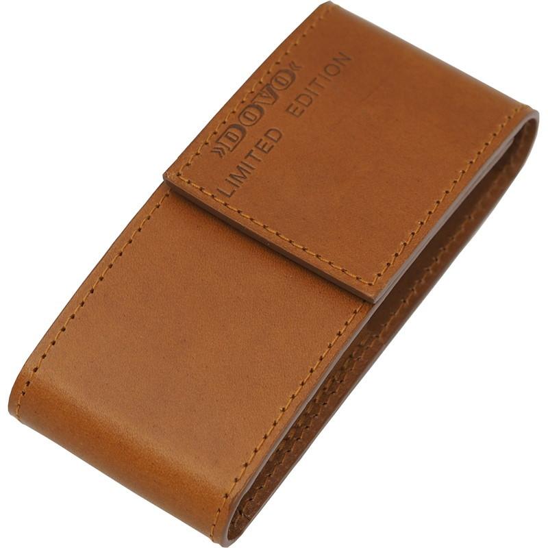 Набор бритвенный Dovo Limited Edition, 2 предмета, кожаный футляр