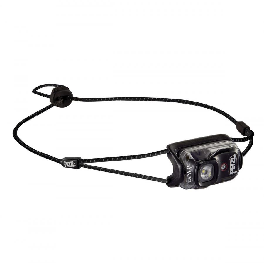 лучшая цена Фонарь светодиодный налобный Petzl Bindi черный, 200 лм, аккумулятор