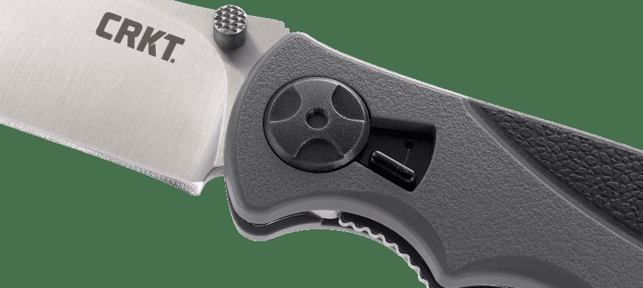 Фото 5 - Складной нож CRKT Monashee, сталь 8Cr13MoV, рукоять термопластик/резина
