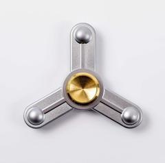 Спиннер (Hand Spinner) Hi-tech silver, фото 1