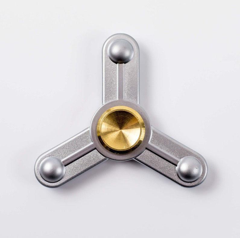 Спиннер (Hand Spinner) Hi-tech silver