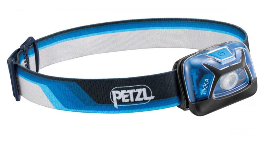 Фонарь светодиодный налобный Petzl Tikka Core синий, 300 лм
